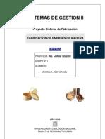 PROYECTO DE FABRICACIÓN DE ENVASES DE MADERA
