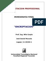 MONOGRAFIA ENCRIPTACION