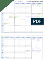 Calendario Modificado -GRUPOS MUSICALES-  (Febrero-Marzo) 2012-1