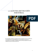 ESTUDIO COMPARATIVO PRIMERA Y SEGUNDA REVOLUCIÓN INDUSTRIAL.