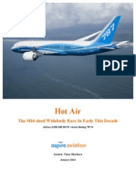 Hot Air 787 vs A330