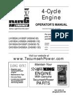 Tecumseh 4-Cycle Snow King Engines