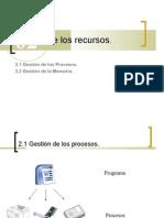 UT02 Gestión de los recursos por el sistema operativo