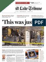 Salt Lake Tribune front page 2/6/2012