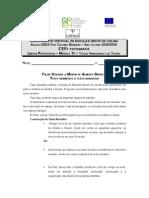 11.Proposta de Trabalho-Texto Dramático a Texto Narrativo
