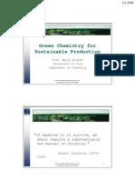 Marja Lajunen Green Chemistry