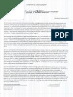 UANMD-Sander Letter 2-6-12