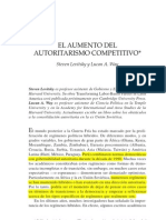 Autorismo Competitivo - Levitsky y Way