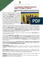 Division de Honor Femenina Alcobendas-castro (23-28) 4febrero2012