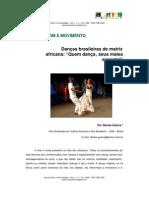 Dancas Brasileiras de Matriz Africana