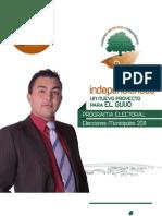 EL GUIJO Programa Elecciones Municipales 2011 El Guijo
