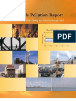 Particle Pollution EPA Report 2003