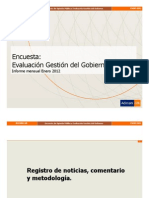 Gestion Pineira Enero 2012