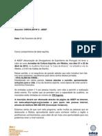 Jornadas ADEP 2012- 2º Circular
