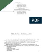 FD Analiza Fizico-chimica a Cerealelor
