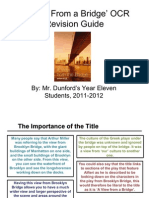 A View From a Bridge' Revision Guide for OCR Exam