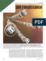 A Quantum Renaissance Computing 2008