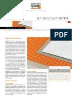 Schluter DITRA Technical Information
