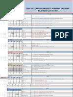 Academic Calendar 2011 12