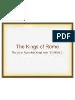 kings of rome