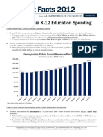 Budget Facts 2012