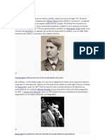 Historia de La Ingenieria Electrica
