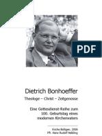GD Reihe Bonhoeffer Textheft Text