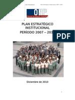 Plan Estratégico Institucional 2007-2011