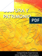 Cultura y Patrimonio - Compartiendo Experiencias Entre Chiquitos y Extremadura