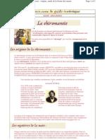 Dossier Chiromancie