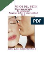 Beneficios Del Sexo 2012