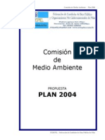 Plan 2004 de la Comisión de Medio Ambiente de FedePil
