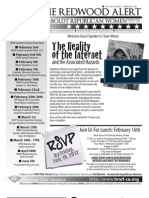 February 2012 HRWF Redwood Alert