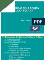 6 Dinamica de La Opinion Publica y Politica