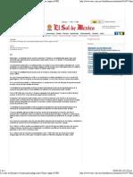 06-02-12  La crisis en Europa es el principal peligro para China, según el FMI