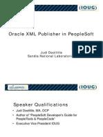 XML in People Soft