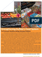 Strengthening Buffalo's Food System To Promote Healthy Eating Among Children