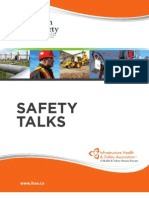 Safety Talks