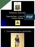 Grado 04 Maestro Secreto
