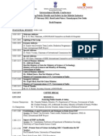 Workshop on Cell Tower Radiation - Delhi -  Agenda of Conference)