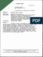 Document Pour Apprendre Le Peul via L-Anglais