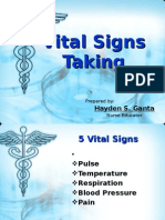 Vital Signs Taking