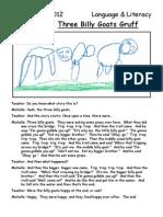 Three Billy Goat Sample Retellings