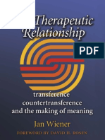 Weiner- The Therapeutic Relationship