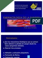 Farmacología de la sangre