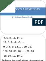 Progressões Aritméticas - Teoria