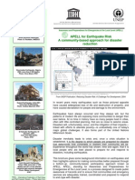 APELL for Earthquake Risk