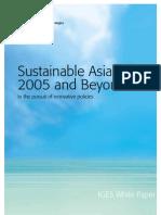 Sustainable Asia 2005