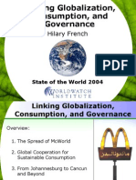 Globalization Consumption and Governance