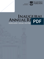 Adelaide Legal Outreach Service - Inaugural Annual Report